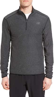 New Balance 'Transit' Quarter Zip Training Jacket