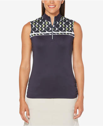 Callaway Printed Sleeveless Golf Top