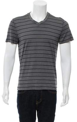 Giorgio Armani Knit V-Neck T-Shirt