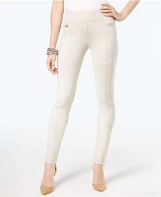 INC International Concepts I.n.c. Curvy-Fit Skinny Moto Pants