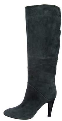 Giuseppe Zanotti Suede Knee-Length Boots