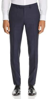 HUGO Hesten Micro-Pattern Slim Fit Suit Pants
