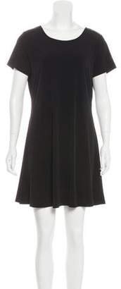 MICHAEL Michael Kors Scoop Neck Mini Dress