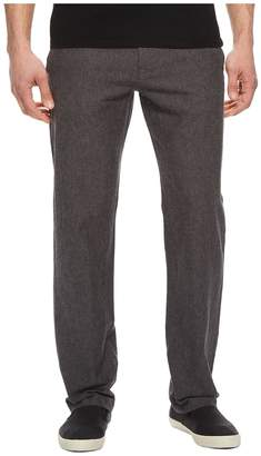 Perry Ellis Linen Cotton Drawstring Pants Men's Clothing
