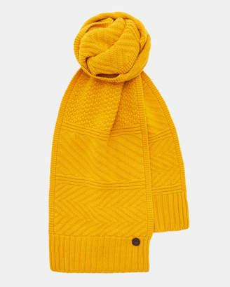 Ted Baker MULTEE Multi stitch scarf