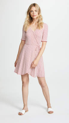 Three Dots Wrap Dress