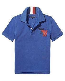 Tommy Hilfiger Ame Track Badge Polo S/S ( Boys 8-14 Years )