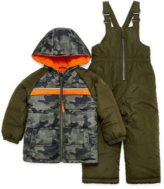 iXtreme Heavyweight Camouflage Snow Suit-Toddler Boys