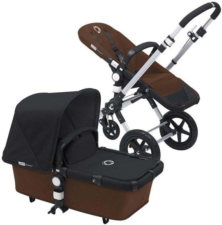 Bugaboo Cameleon3 Stroller - Dark Brown/Royal Blue