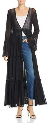 Band of Gypsies Lucia Sheer Duster Jacket