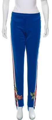 Gucci 2017 Mid-Rise Stirrup Pants Blue 2017 Mid-Rise Stirrup Pants