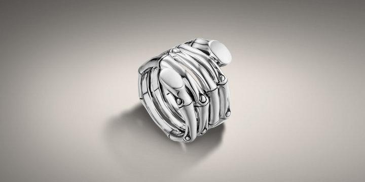 John Hardy BAMBOO COLLECTION Multi Row Wrap Ring