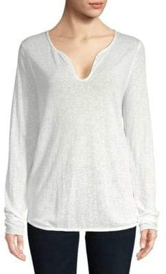 Zadig & Voltaire Tunisien Lace Top
