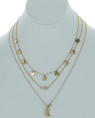 Sparkling Sage Plated Resin Necklace & Earrings Set