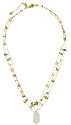 Links of London 18K Gemstone Multistrand Necklace