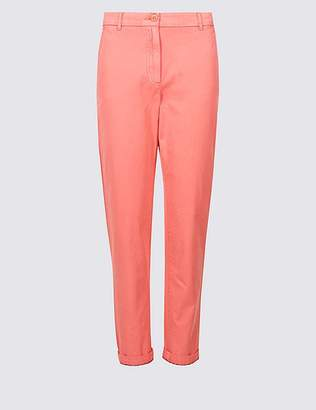 Marks and Spencer Pure Cotton Turn-up Chinos
