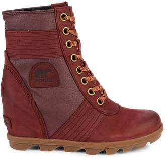 Sorel Lexie Waterproof Wedge Snow Boots