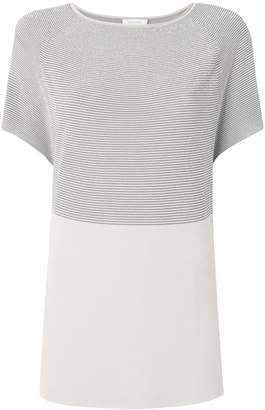 Cruciani striped knitted tee