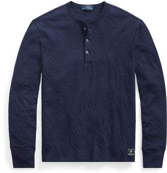 Ralph Lauren Cotton-Blend Henley Shirt