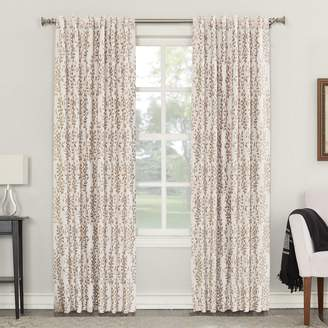 Sun Zero 49212 Rita Blackout Lined Back-Tab Single Curtain Panel