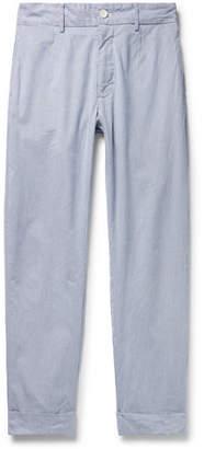 Engineered Garments Andover Slim-Fit Cotton-Cordlane Trousers