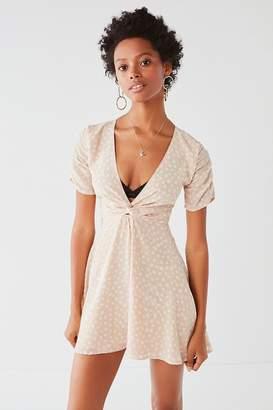 SIR the label Valentina Twist-Front Mini Dress