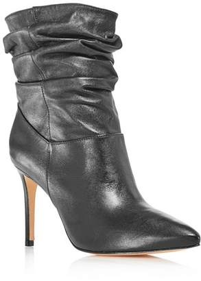 Schutz Women's Sydnee Leather High-Heel Booties - 100% Exclusive