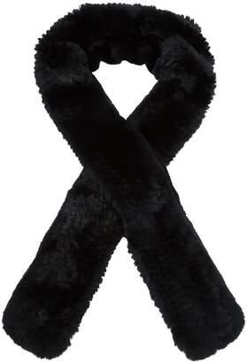 Yves Salomon elongated fur scarf