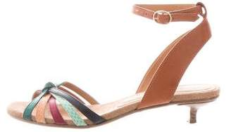 Etoile Isabel Marant Ankle Strap Leather Sandals
