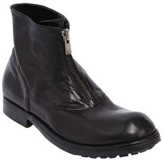 Preventi Zipped Leather Boots