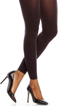 Hue Black Control Top Ultimate Opaque Footless Tights