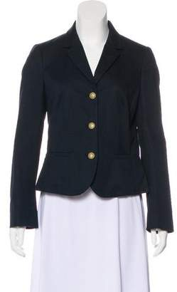 RED Valentino Bow-Accented Notch-Lapel Blazer