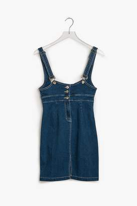 Genuine People Bodycon Denim Overall