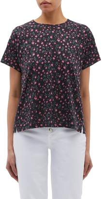 Rag & Bone Floral print Pima cotton T-shirt