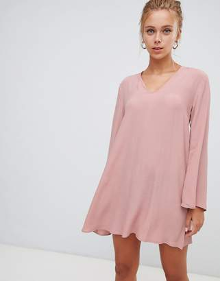 389d669db65 at ASOS · Glamorous 3 4 sleeve swing dress