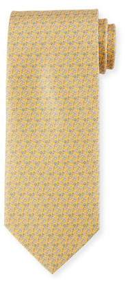 Salvatore Ferragamo Golf Club Silk Tie