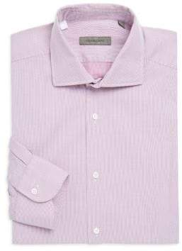 Corneliani Regular Fit Stripe Dress Shirt