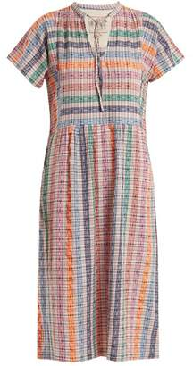 Ace&Jig Merrit striped cotton-blend dress