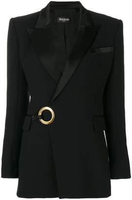 Balmain loop detail blazer