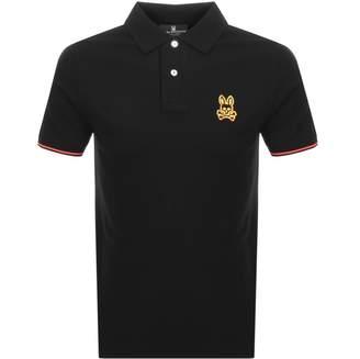 Neon Polo T Shirt Black