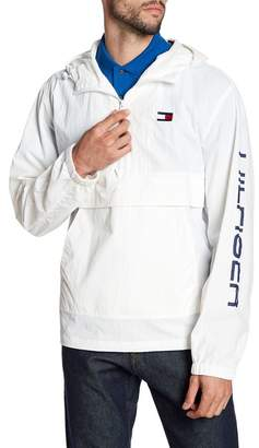 Tommy Hilfiger Taslan Retro Half-Zip Hooded Pullover