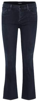 J Brand Selena Bootcut cropped skinny jeans