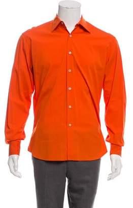 e78c27be Prada Orange Men's Shirts - ShopStyle
