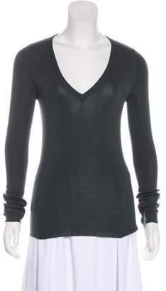 Prada Cashmere Long Sleeve Top