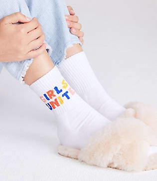 Lou & Grey Style Club Girls Unite Socks