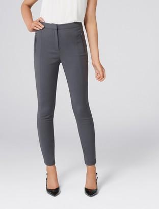 0e71823d7329e Forever New Liz High-Waist Skinny Pants - Grey - 4