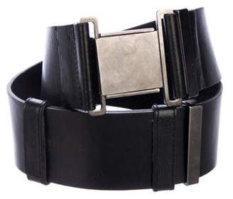 Kaufman Franco KAUFMANFRANCO Leather Waist Belt