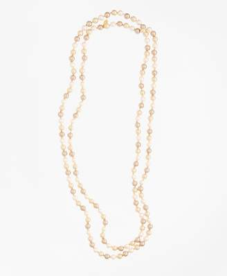 Brooks Brothers Tonal Pearl Necklace