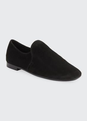 Aquatalia Revy Suede Flat Loafers