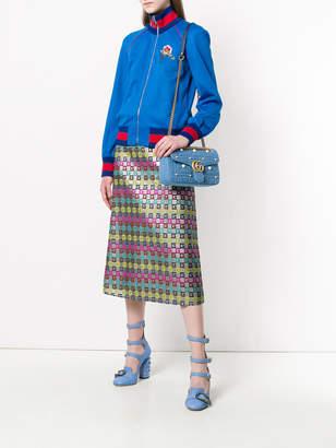 Gucci Quilted denim shoulder bag
